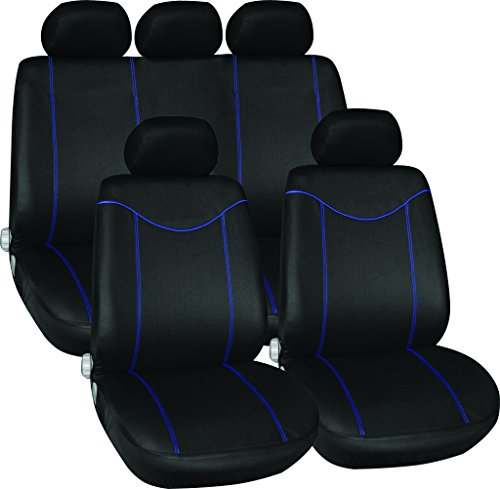 dodge-avenger-all-years-full-set-luxury-seat-covers-front-rear-black-blue-piping
