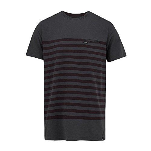 Herren T-Shirt Animal Slubb T-Shirt Asphalt Grey