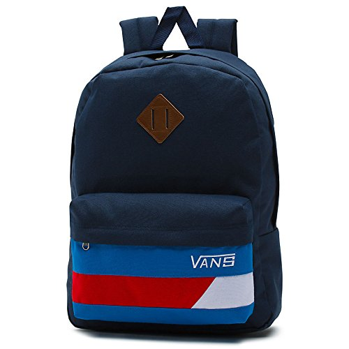 Vans Old Skool II Backpack Sac à dos, 42 cm, 22 l, dress blaus de Racing red
