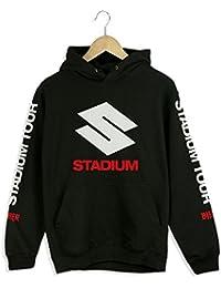 PURPOSE TOUR STADIUM TOUR black hoodie new Justin Bieber merch