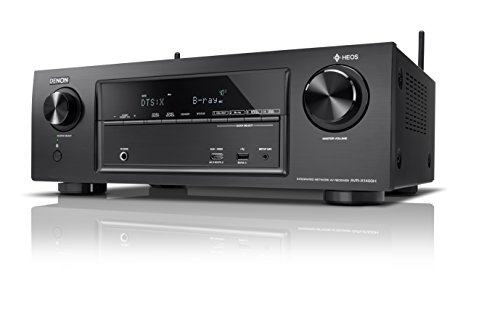 Radio-airplay (Denon AVRX1400H 7.2-Kanal AV-Receiver (HEOS Integration, Dolby Vision Kompatibilität, Dolby Atmos, dtsX, WLAN, Bluetooth, Amazon Music, Spotify Connect, 4K/60Hz 6 HDMI-Eingänge, 7x 145 W) schwarz)