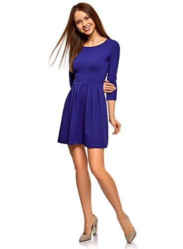 Rock Star Kleid - oodji Ultra Damen Tailliertes Kleid mit