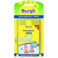 Burgit Elastosoft Blasenpflaster Ferse, 2er Pack (2 x 5 Stück) preisvergleich bei billige-tabletten.eu