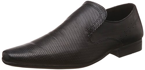 Red Tape Men's Brogue Black Leather Formal Shoes - 10 UK/India (44 EU)