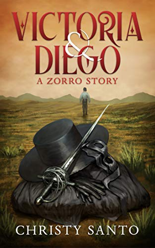 Book cover image for Victoria and Diego: A Zorro Story