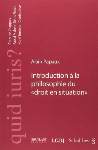 Introduction à la philosophie du