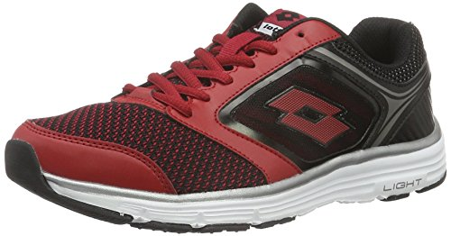Lotto Everide III AMF, Scarpe Running Uomo, Rosso (RED RSP/BLK), 39 EU