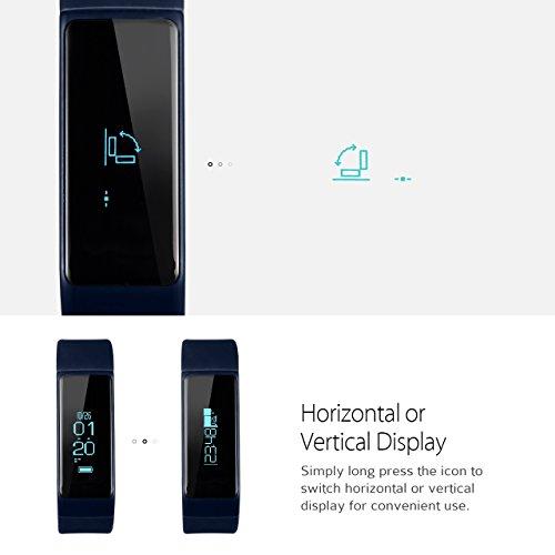 OMorc-Fitness-Tracker-Bluetooth-40-Braccialetto-Intelligente-IP65-Impermeabile-con-OLED-Scherm-Remote-Camera-per-iPhone-Android-Smartphone-Compatibile-con-IOS-80-e-Superiore-Android-43-e-Sopra