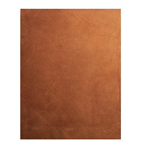 Realeather Bastelpapier, Wildleder, mittelbraun Leder Haut