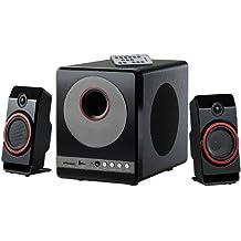 auvisio 2 1 System: 2.1 Premium-Multimedia-Soundsystem mit Subwoofer, MP3-Player, 40 Watt (Lautsprecher 2 1)