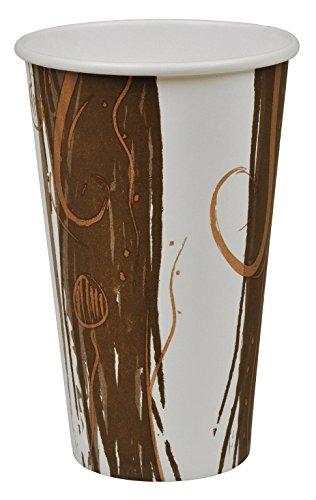 Becher Großer Eiskaffee (Abena Hot Drink Trinkbecher Papier einlagiger genießen 48cl)