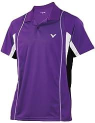Victor Polo Purple, color Unisex, tamaño L