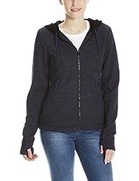 Bench Damen Jacke Bonded Short Velvet Jacket