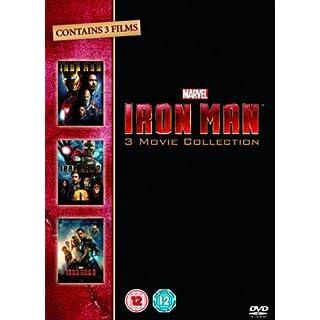 Iron Man 1-3 [Import Italien]