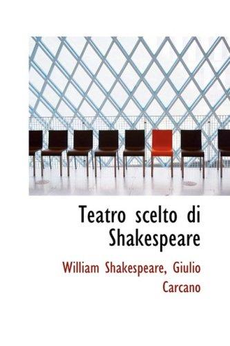 Teatro scelto di Shakespeare