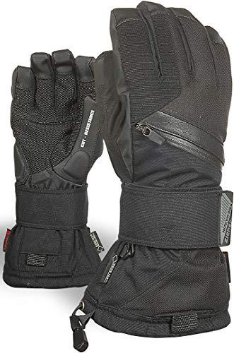 Ziener Erwachsene MARE GTX Gore plus warm glove SB Snowboard-handschuhe, black hb, 8
