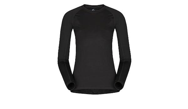 db435f062 Merino Wool 200 Lady T-shirt LS Black: Amazon.co.uk: Sports & Outdoors