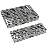 comdent 28–2412–7esterilización bandeja de casete para 7instrumentos, 185x 90x 20mm