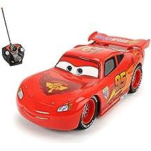 Disney Cars – Coche de chicos con remote control, color rojo (Dickie 4006333004179)