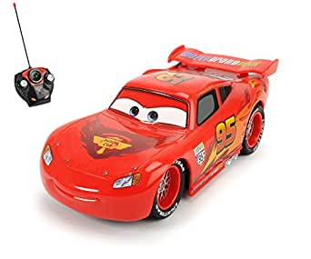 dickie voiture radiocommandee rc lightning flash mcqueen cars 2 1 24 jeux et jouets. Black Bedroom Furniture Sets. Home Design Ideas
