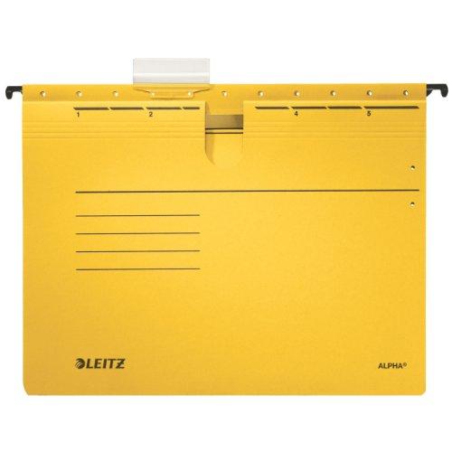 Leitz Alpha Hängehefter für DIN A4, gelb, 19840015