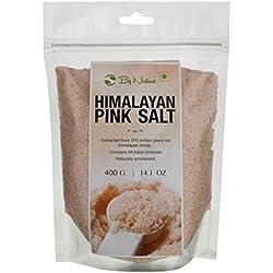 By Nature Himalayan Pink Rock Salt - 400 Grams