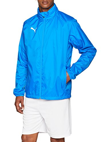 PUMA Herren Liga Core Training Rain Jacket Electric Blue Lemonade White, XXXL