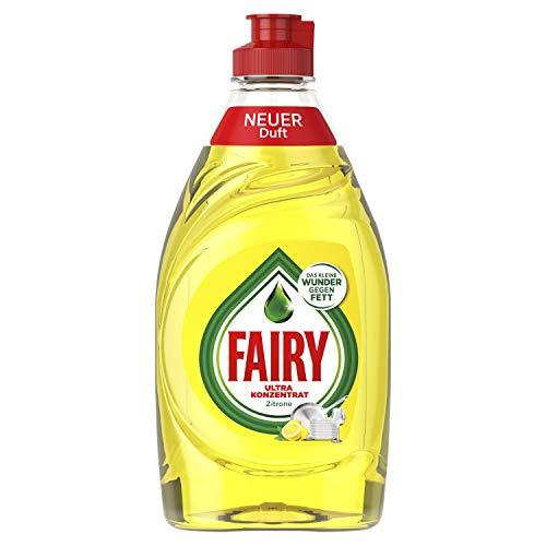 Fairy Zitrone Ultra Konzentrat Hand-Geschirrspülmittel, 10er Pack (10 x 450 g) -