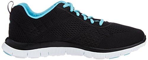 Skechers Flex AppealObvious Choice, Sneakers basses femme Noir (black/blue)