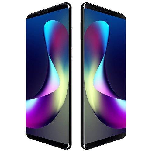 CUBOT X18 Plus 4G Smartphone LTE ohne Vertrag mit 5,99 Zoll Vollbildschirm,Dual Rückkamera,Fingerabdruck Sensor,4GB RAM 64GB ROM,4000 mAh Akku,Android 8.0 MTK6750T 1,5 GHz Octa Core (Schwarz)