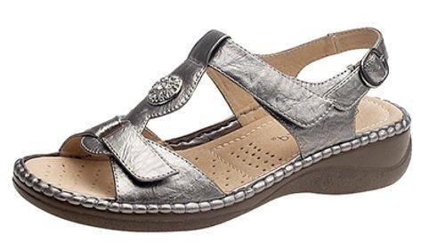 ladies-touch-chiusura-posteriore-halter-sandali-con-fodera-in-pelle-argento-pewter-39