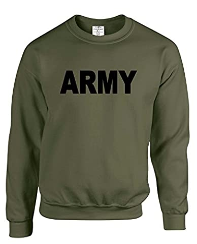 Army Mens adult Premium unisex Sweatshirts Jumper sweatshirts for him daddy dad father father's day USA US UK America England FBI DEA CIA Soldiers war. Free delivery included.
