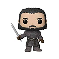 Funko Pocket Pop! Keychain: Game Of Throne S8 - Jon Snow (Beyond the Wall), Action Figure - 31812
