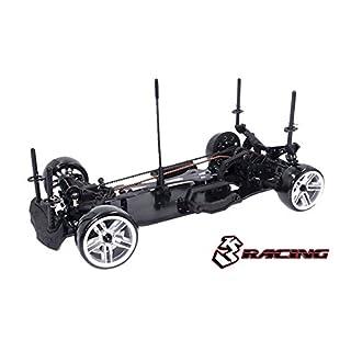 3Racing RC Model KIT-D4AAWDS/BK Sakura D4 1/10 Drift Car(AWD- Sport Black Edition) - Pre-Assembled