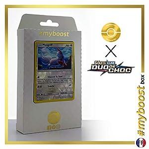 Mangriff (Zangoose) 132/181 Holo Reverse - #myboost X Soleil & Lune 9 Duo de Choc - Box de 10 Cartas Pokémon Francés