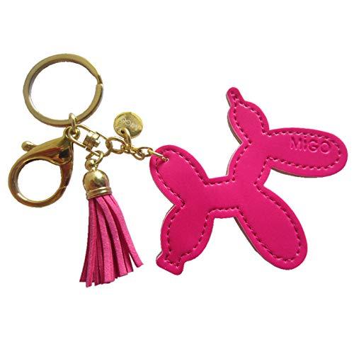 Cortical Schlüssel Schnalle Leder Tierkreis einfache Persönlichkeit Universal Cartoon niedlich Universal Anhänger Tasche -