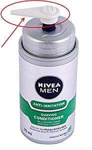 DISPENSER: Alternative for Philips Coolskin Shaver HQ170 & HQ171 cartridges, Moisturising Gel. Dispenser need to be used with Philips HS-800 NIVEA Shaving Conditioner (not included).