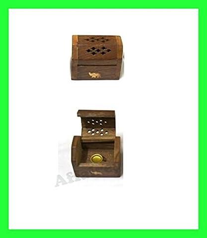 Holz Handwerk Agarbatti Räucherstäbchen Dhoop Batti Box Ständer, Geschenk für