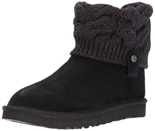 UGG SAELA Stiefel 2018 black, 41 (Schwarze Ugg Leder Boots)