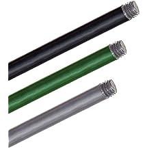 Gewindestab M10 SCHWARZ für Gartenkugel, Rosenkugel, Dekokugel, gerade, Ø12mm, H=118cm, gerade mit M10-Gewinde, passend für Artikel der GARTENFLAIR 1 - Kollektion (ART GLASS powered by CRISTALICA)