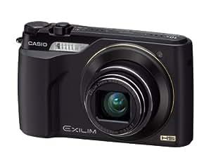Casio Exilim EX-FH100 Highspeed Digitalkamera (10 Megapixel, 10-fach opt. Zoom, 7,6 cm (3 Zoll) Display, bildstabilisiert) schwarz