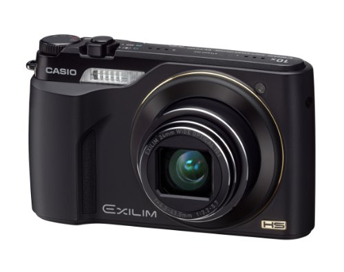 Casio Exilim EX-FH100 Highspeed Digitalkamera (10 Megapixel, 10-fach opt. Zoom, 7,6 cm (3 Zoll) Display, bildstabilisiert) schwarz