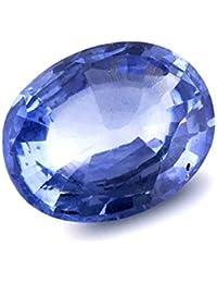 STAR GEMS 7.25 Ratti/6.50 Carat Blue Sapphire/Neelam Stone for Men and Women