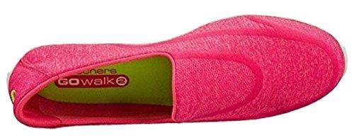 Skechers - GO Walk 2Super Sock, scarpe  da donna Rosa (rosa)