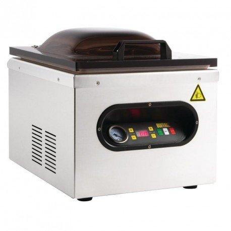 Buffalo Kammer Maschine zur Vakuum verpackung 378x 359x 429mm Edelstahl Lebensmittel Dichtung