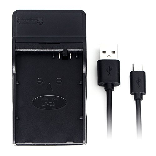LP-E8 USB Charger for Canon EOS 550D, 600D, 650D, 700D, EOS Kiss X4, X5, X6i, EOS Rebel T2i, T3i, T4i, Rebel T5i Digital Camera (Camera Digital Rebel)