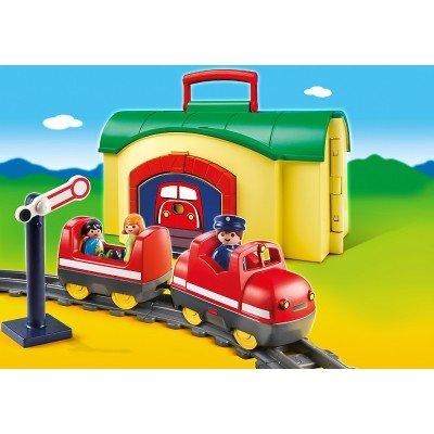 6783 Playmobil Tren Portátil 1.2.3.