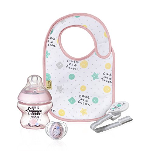 Tommee Tippee 42354677 Closer to Nature Kit Regalo, Rosa