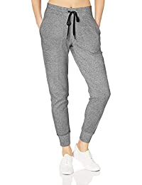 Amazon Essentials - Pantaloni da jogging Studio da donna, in tessuto terry