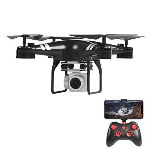 KY101D Feste Höhe Quadcopter Weitwinkelobjektiv 4K HD 1080P Kamera Quadcopter RC Drohne WiFi FPV 1800Mah Batterie (Schwarz) - Video-spiel-gitarre